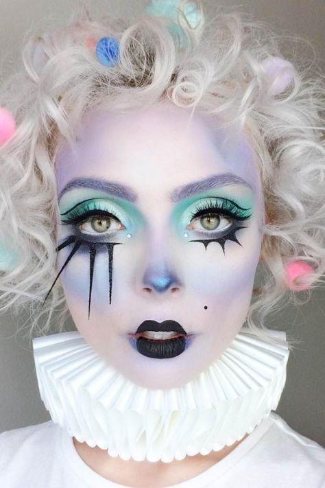 Dark Doll Makeup