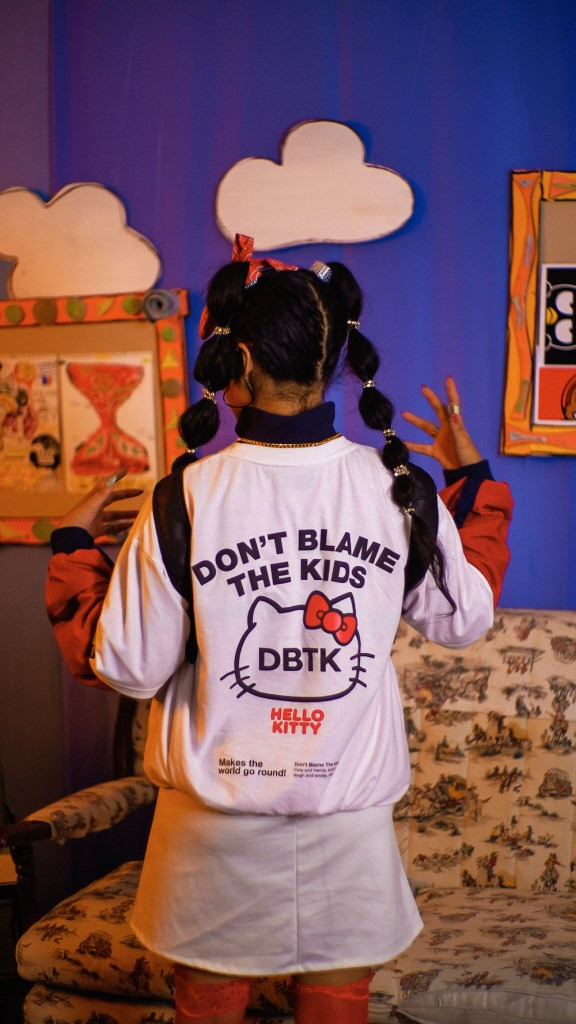 DBTK and Sanrio's Video Lookbook by The Visual Club.