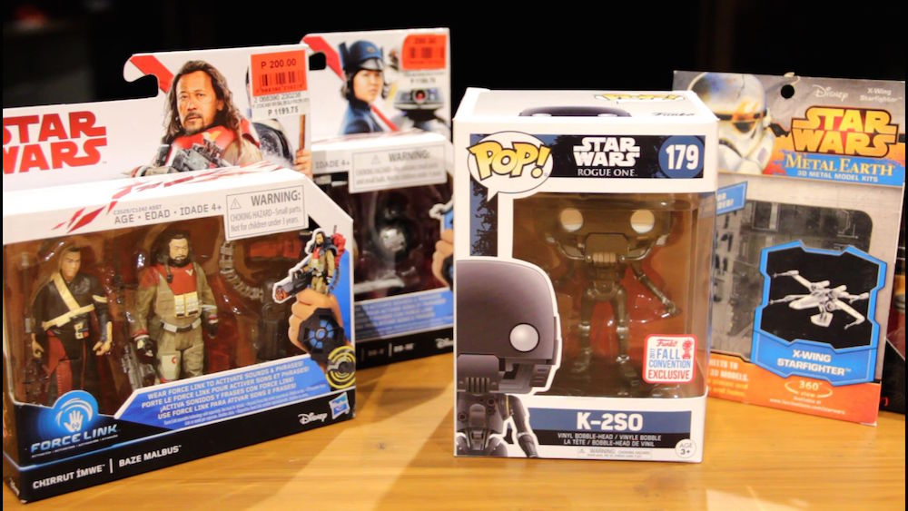 Unboxing Star Wars Rogue One toys!
