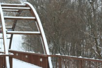 Frosted Bridge (c) Gracie K Harold 2014