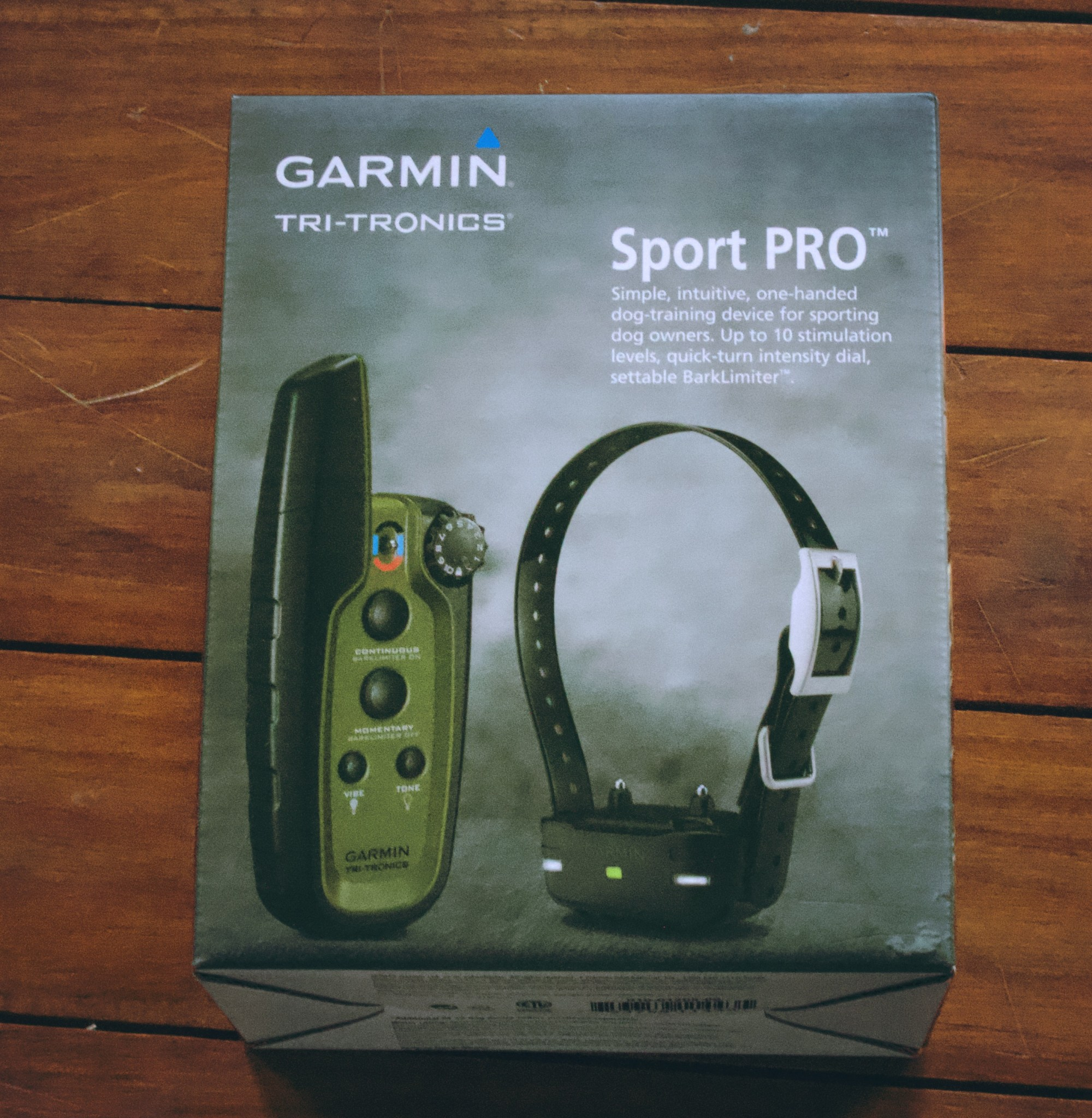 Photo of garmin sport pro box