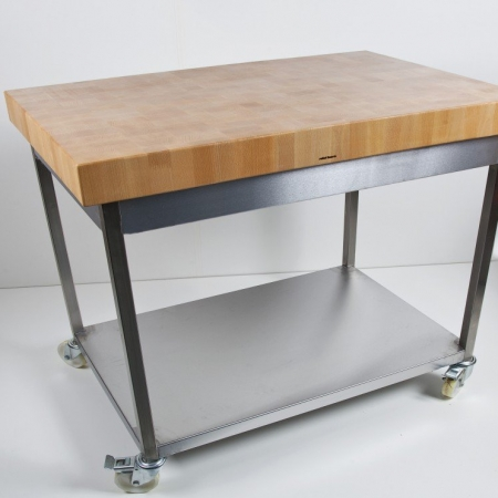 Butchers Block Table (Commercial Grade)