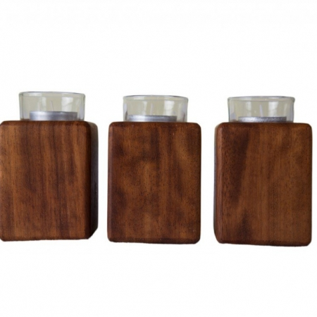Set of 3 Tea Lights (small)