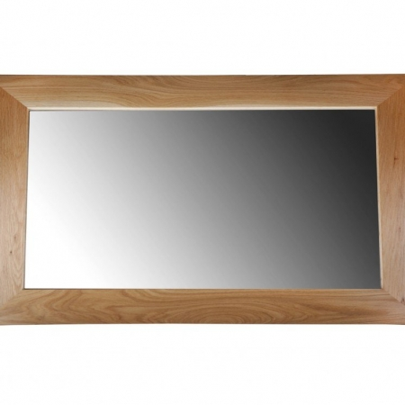 Solid Oak Mirror - Large
