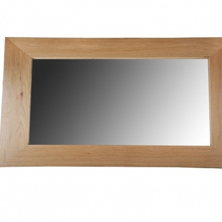 Solid Oak Mirror- Medium