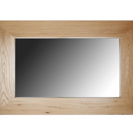 Solid Oak Mirror - Small