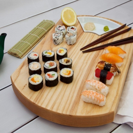 Sushi Board - Large (Including sauce dish)