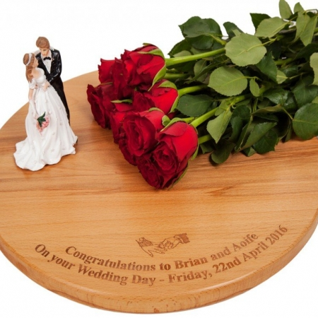 Wedding Cake Board - Personalised