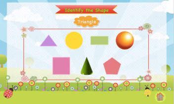 Genius Kid app shapes