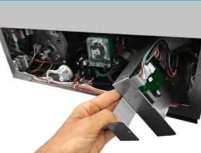 Fácil acceso a componentes
