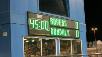 Erstligaspiel Shamrock Rovers - Dundalk