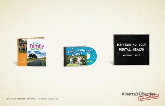 Alberta Libraries Road Trip Ad