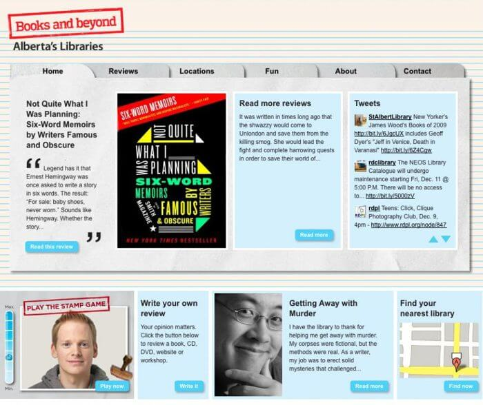 books and beyond website ReThink2