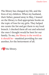 I heart the library