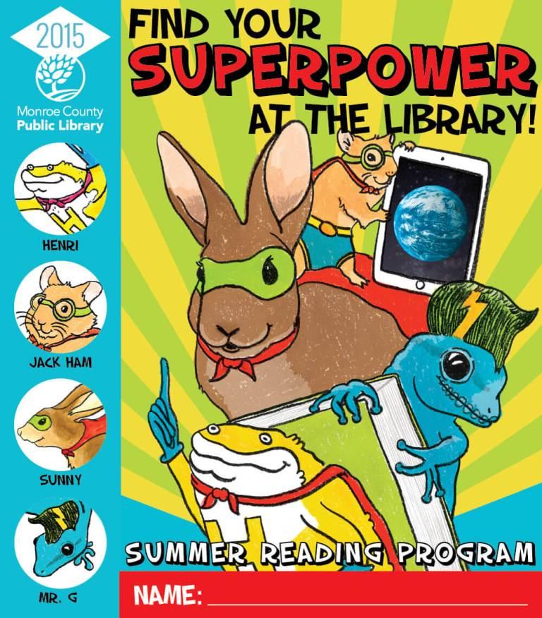 Children's Summer Reading Program game board