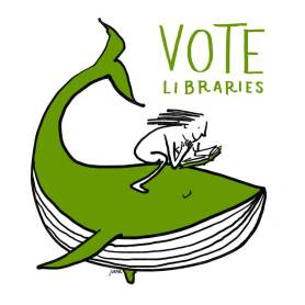 Vote Libraries 6 by Juana Medina