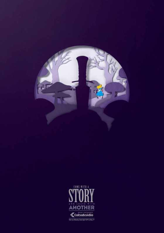 Alice in Wonderland and The Sword in the Stone