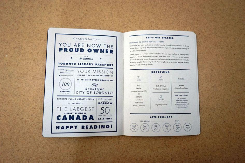 Passport Page 1 - Instructions