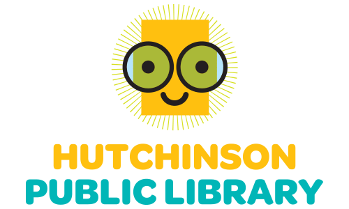 Hutchinson Public Library's nerd logo 2016