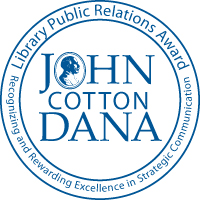 John Cotton Dana Library Public Relations Award Winner