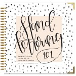 learn to hand letter book