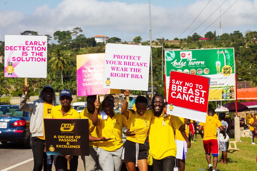 NMJ Ghana kicks of 10th anniversary celebration with a Health Walk