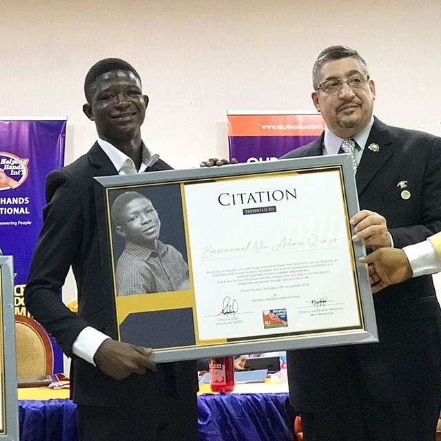 Strika-receives-citation-for-his-role-in-Beasts-Of-No-Nation-