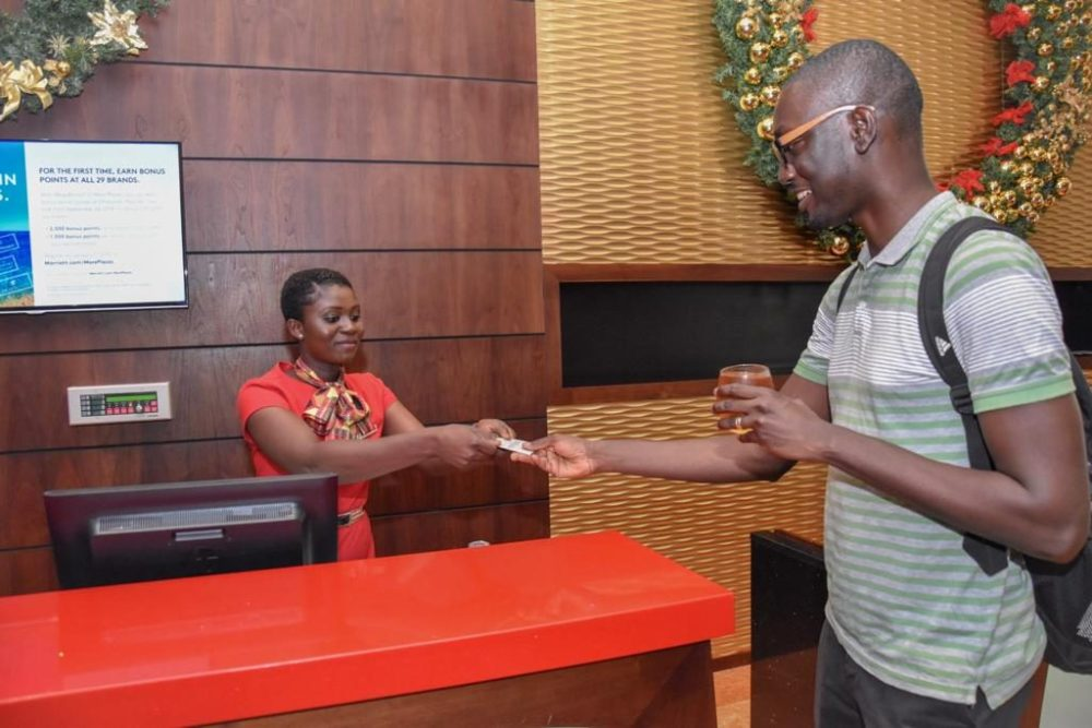 Just the Christmas break I needed…my 'staycation' at the Accra Marriott Hotel