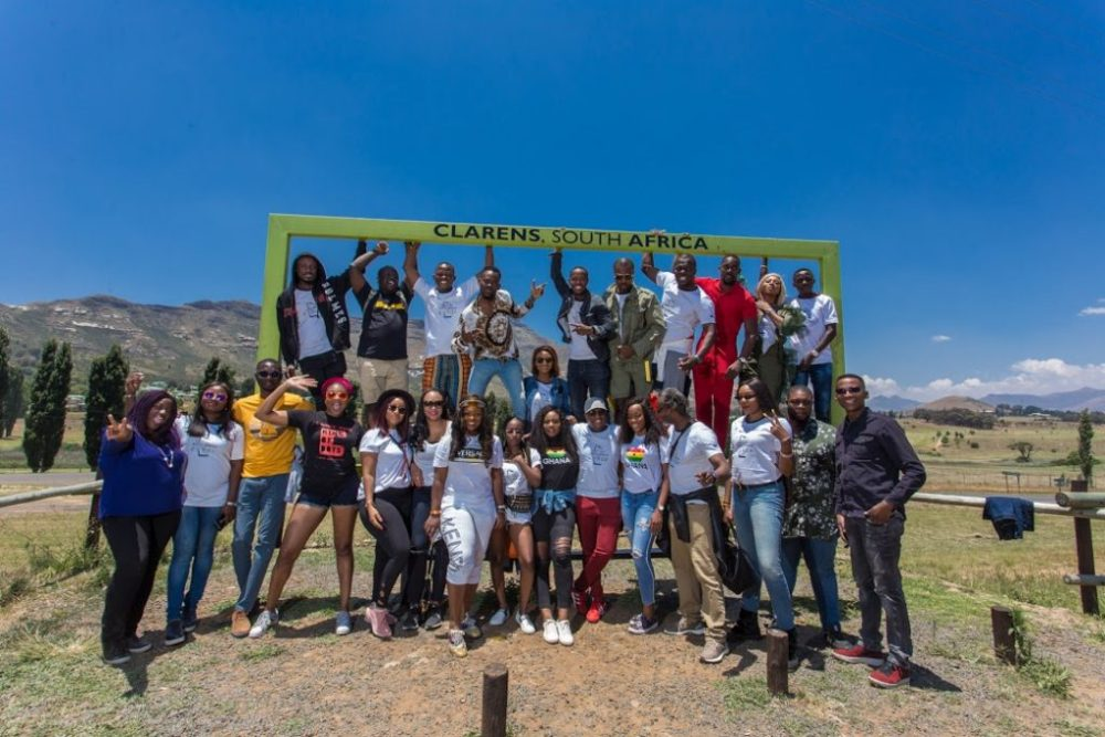 The Group at Clarens