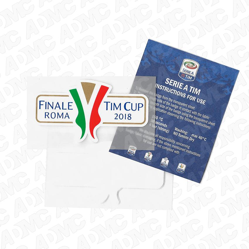 2018 Coppa Italia Finale Roma Patches Admc Llc