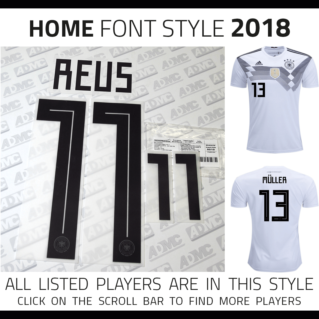 huge selection of 45793 84d16 2018 Germany Home Kits