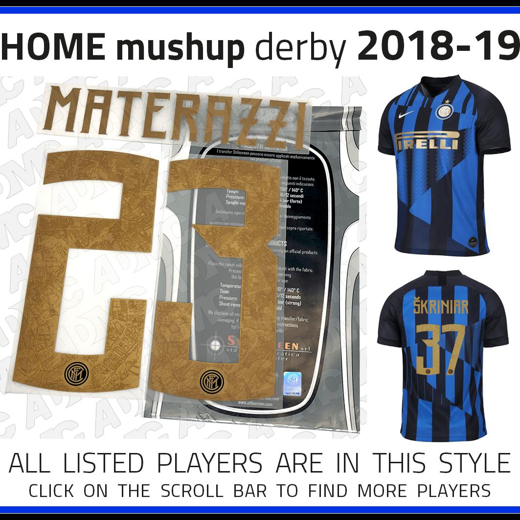 size 40 f5344 741d6 2018/19 Inter Milan mushup 20º anniversary Nike