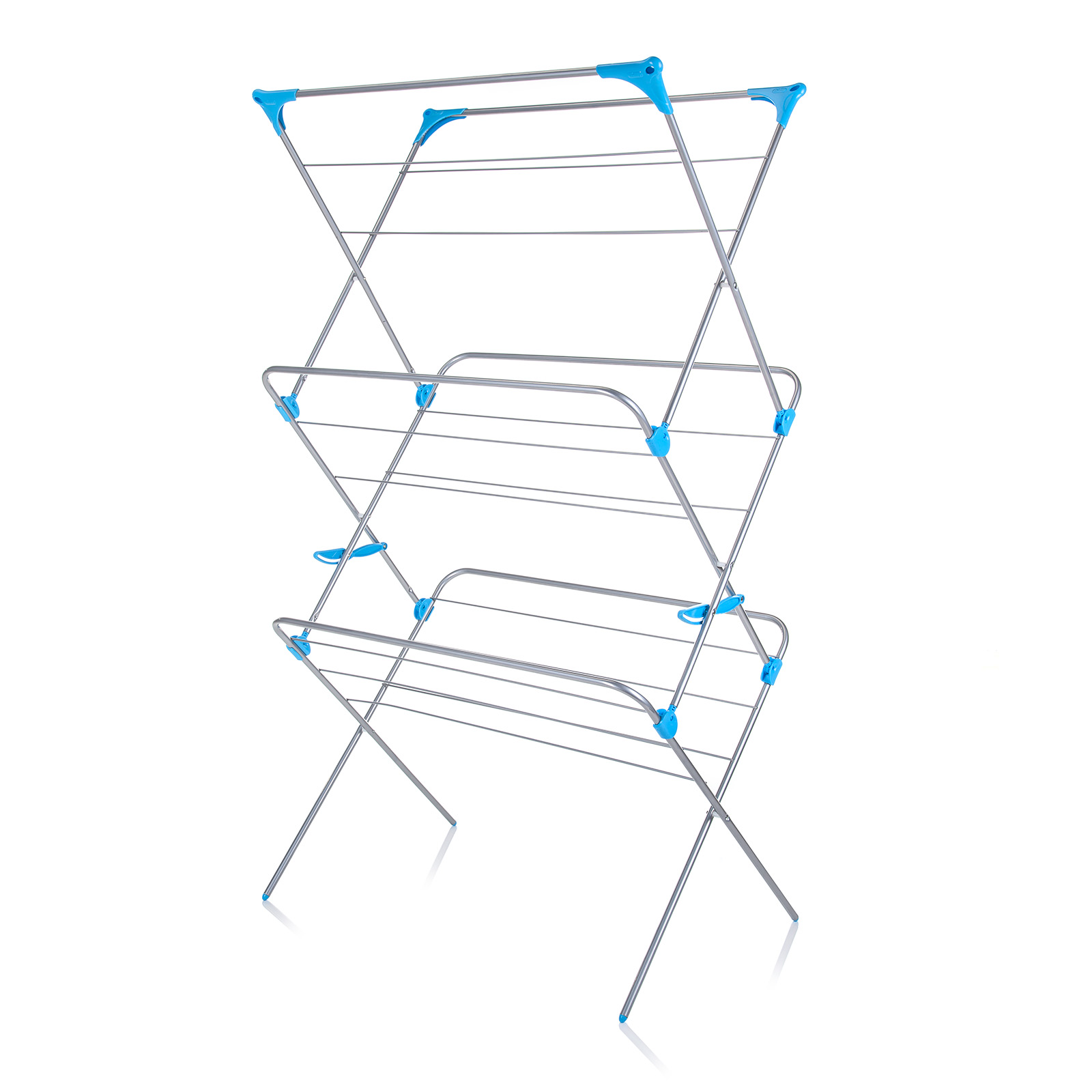 Minky Extra Wide 3 Tier Trio 20m Indoor Clothes Airer