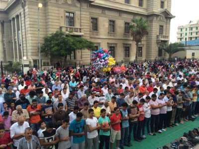 الملايين يؤدون صلاة العيد بالمحافظات.. والسيسي بمسجد المشير طنطاوي