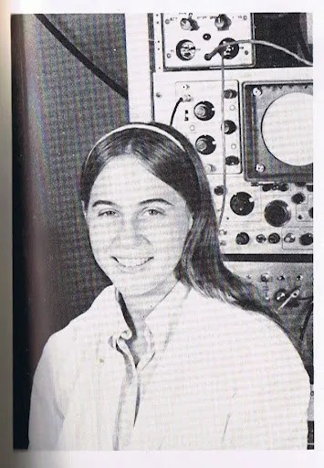 Kathi Aultman in a science lab at Drew University, where she earned her undergraduate degree. Kathi Aultman
