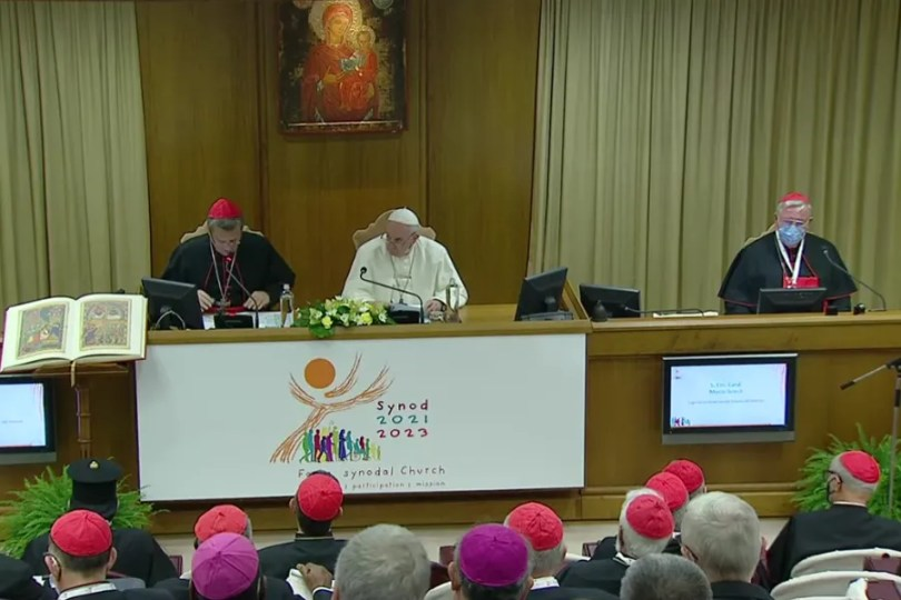 Screenshot from Vatican News YouTube channel.