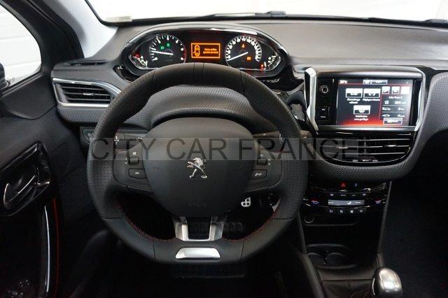 Peugeot 208 16 Bluehdi 120ch Gt Line Grise Voiture En