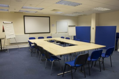A look inside a meeting room