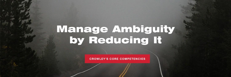 Manage Ambiguity