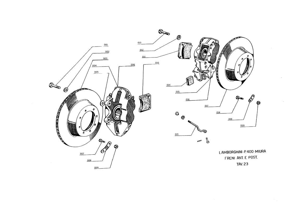 Lamborghini Countach Wiring Diagram