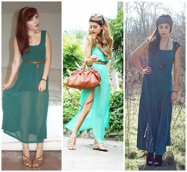 emerald - dress