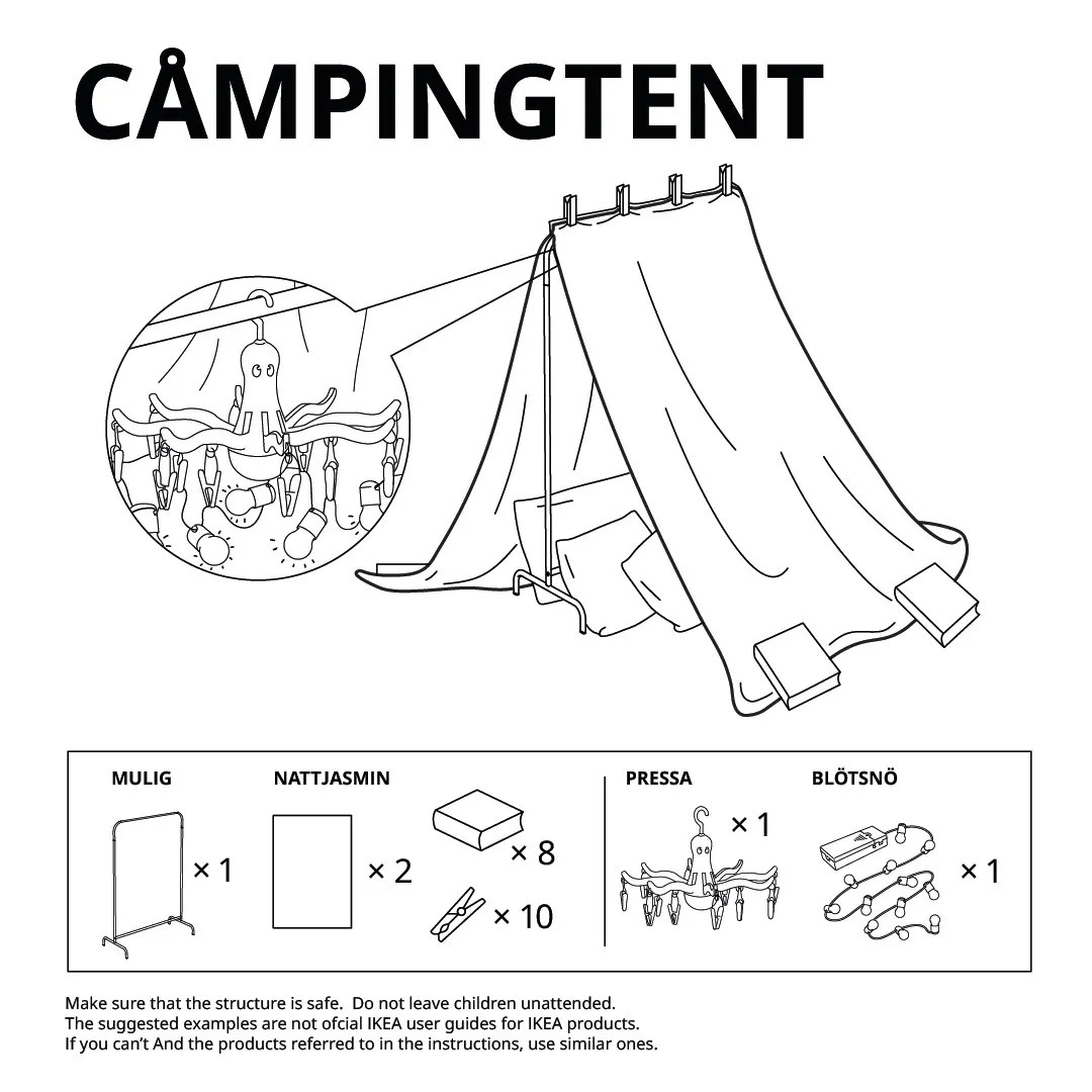 build homemade forts for kids