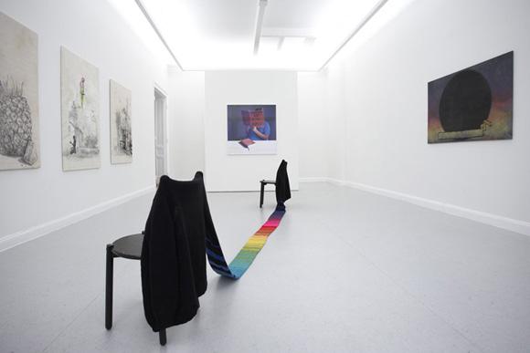 SAMMLUNG OEHMEN »FRIEDRICH KUNATH», Installationsansicht, Kunstsaele Berlin 2010