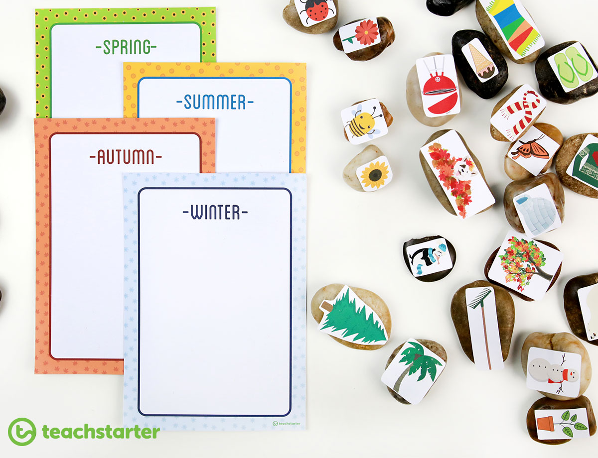 Fun Printable Seasons Activities For The Classroom