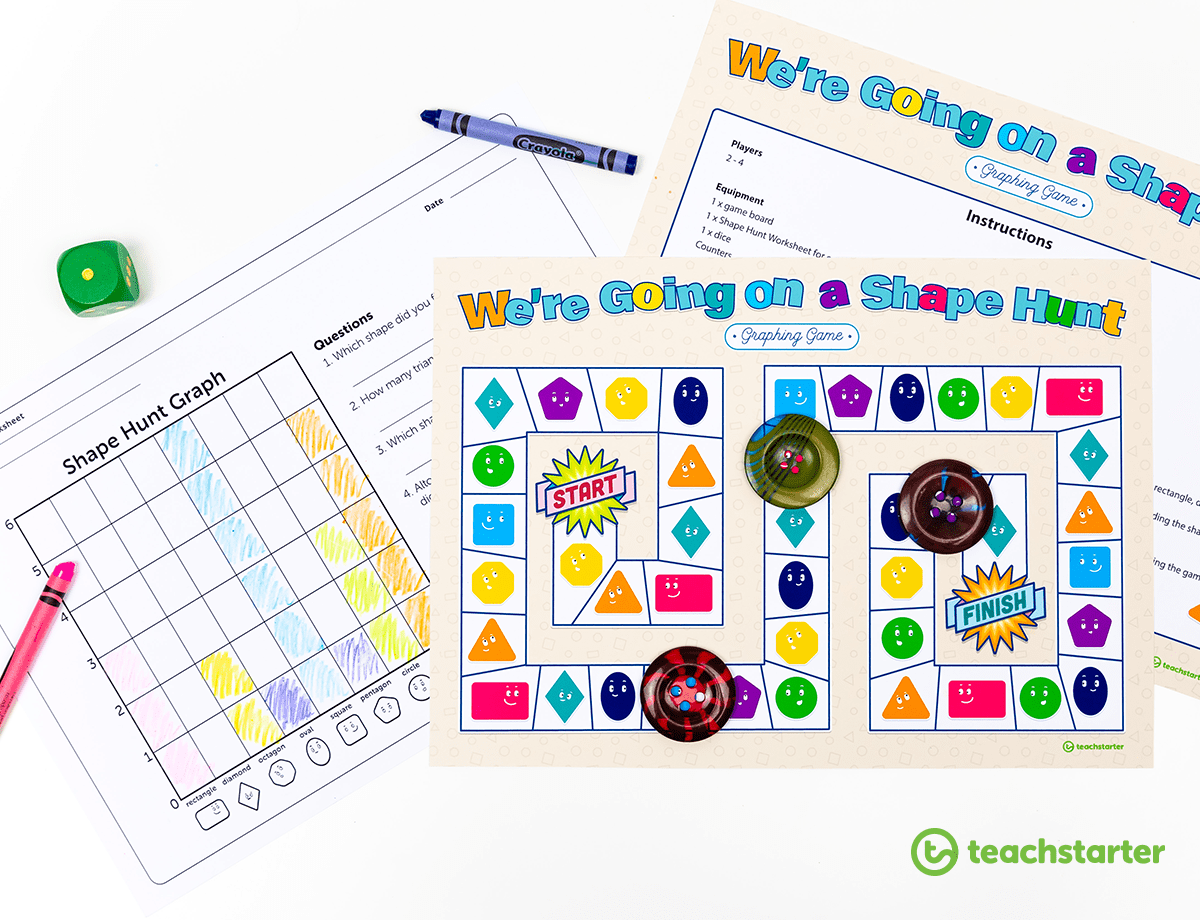 Creative Printable 2d Shape Activities For The Classroom