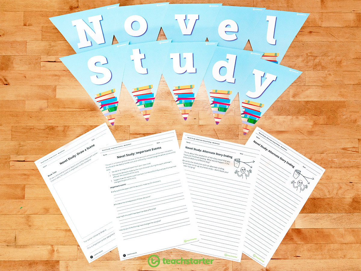 Fun With Literature Novel Study Activities For Any Story