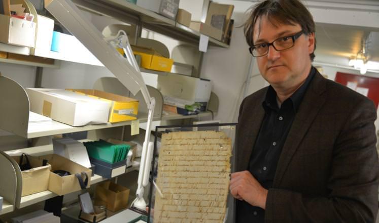 مخطوطة ولاية بادن الألمانية - عمرها 1366 عاما