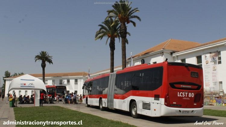 Buses nuevos en Municipalidad de Puente Alto