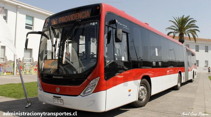 Transantiago | Debutan nuevos buses Marcopolo Torino en el 102, 104 y 114