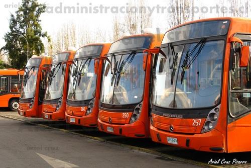 Primera visita a Redbus Urbano (El Salto) de Transantiago
